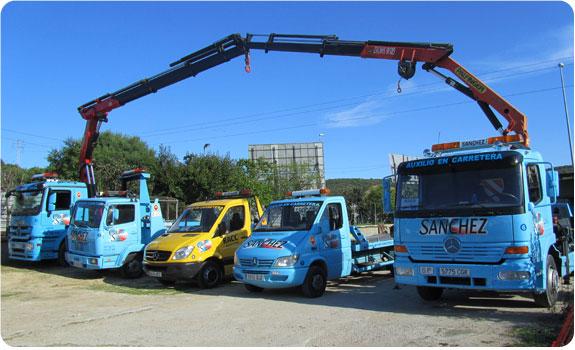 Gruas Sanchez, San Roque | Rescate en carretera, auxilio en carretera, asistencia en carretera